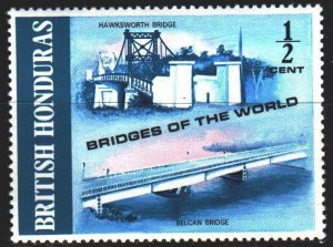 Belize. 1971. 273 from the series. Bridge. MNH.
