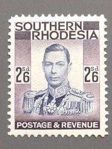 Southern Rhodesia 53 F-VF MH. Scott $ 7.00