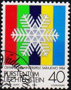 Liechtenstein. 1983 40r S.G.826 Fine Used