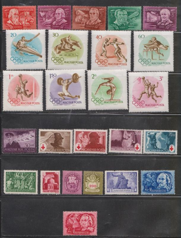 HUNGARY - Lot Of Mint Hinged Issues - Nice Stamps