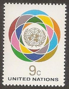 United Nations 269 New York Definitive 9c single MNH 1976