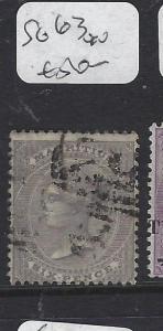 MAURITIUS   (P0810B)  QV 6C  SG 63   VFU