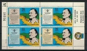 MCR24) Independent State of Rainbow Creek 1979 Secession Thomas Barnes MUH
