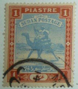 1898 SOUTH SUDAN SCOTT #13 USED