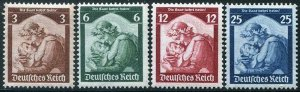 HERRICKSTAMP GERMANY Sc.# 448-51 1935 Saar Return
