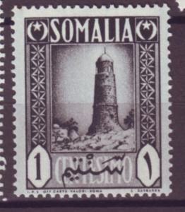 J21449 Jlstamp 1950 italy somalia part of set mnh #170 tower
