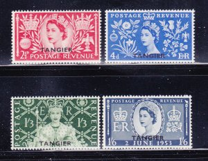 Great Britain Offices In Morocco 579-582 Set MH, Tangier (B)