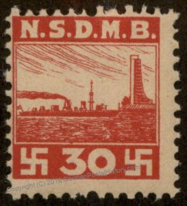 Germany NSDAP MNH Nationalsozialisticher Deutscher Marinebund NSDMB Revenu 96194