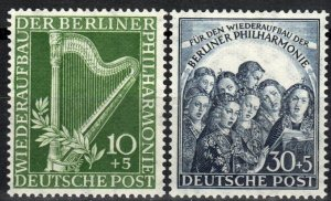 Germany #9NB4-5 F-VF Unused  CV $39.00 (X2661)