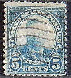 USA, Roosevelt, 5 cents, (1612-Т)