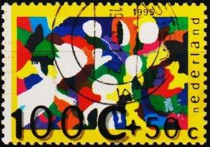 Netherlands. 1995 100c+50c S.G.1780 Fine Used