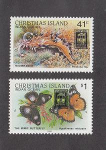 Christmas Island Scott #246-247 MNH