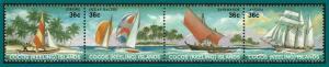 Cocos 1987 Sailing Craft, MNH 158,SG158-SG161