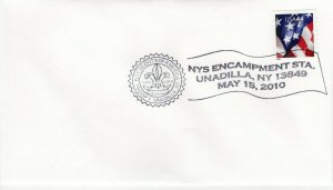 SCOUT CANCEL - NYS ENCAMPMENT STA, UNADILLA, NY  2010  SC795