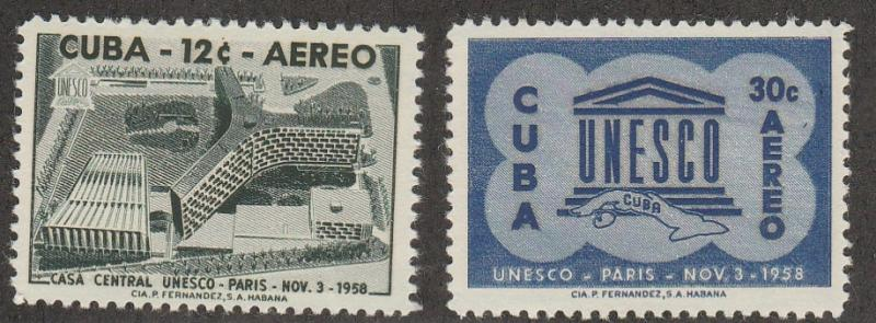 CUBA #C193-4 MINT NEVER HINGED COMPLETE