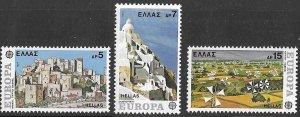 Greece # 1205-07  Europa   1977     (3) Mint NH