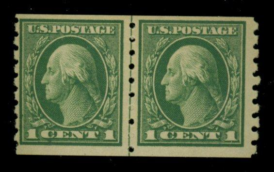 412 MINT Line Pair F-VF OG LH Cat$120