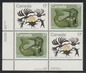 Canada 867a Inuit spirits - MNH - se-tenant block