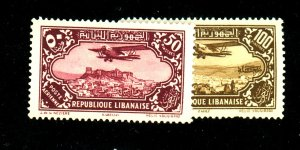 Lebanon C47-8 MINT F-VF OG LH Cat $21