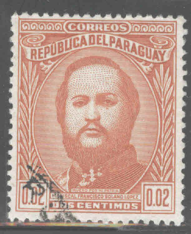 Paraguay Scott 443 Used stamp