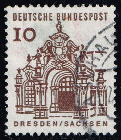 Germany #903 Wall Pavilion in Zwinger - Dresden; Used (0.25)