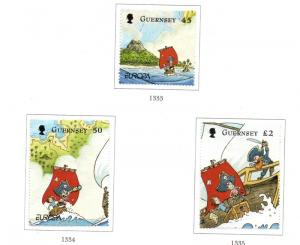 Guernsey Sc 1083-5 2010 Europa stamp set used
