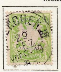 Bayern Bavaria 1888 Early Issue Fine Used 3pf. NW-120728