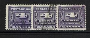 Canada SG# D16 - Used - x3 - Lot 073017