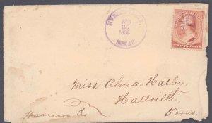 Brewster County Murphyville DPO Dead Post Office 1883-1888 ( Postal History )...