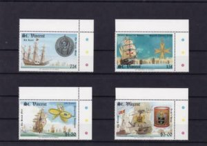 st vincent 40th anniversary of the armada mint never hinged stamps ref r15049