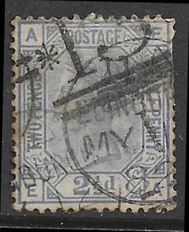 -GB 82 plate 23 used 2017 SCV $32.50 - repaired corner tear, upper right - 17980