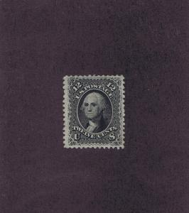 SC# 69 UNUSED NO GUM 12 CENT WASHINGTON, 1861, 2017 PF CERT, VERY FINE.