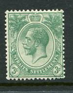 Straits Settlements #182 Mint