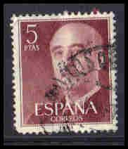 Spain Used Very Fine ZA5919
