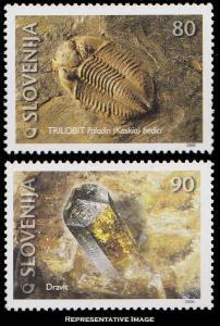 Slovenia Scott 397-398 Mint never hinged.