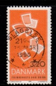 Denmark -  #880 Stamp Day - Used