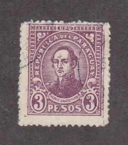 Paraguay Scott #296 Used