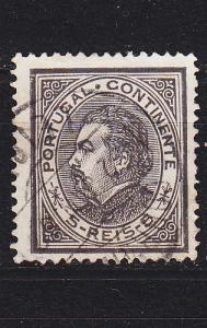 PORTUGAL [1880] MiNr 0051 xB ( O/used )