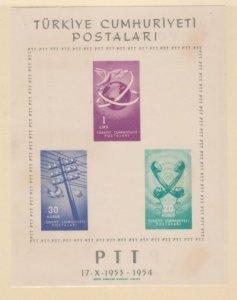 Turkey Scott #1137 Stamps - Mint NH Souvenir Sheet