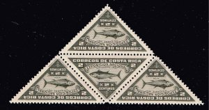 COSTA RICA STAMP 1937 National Exhibition, San Jose  MNH STAMPS LOT BLK OF 4