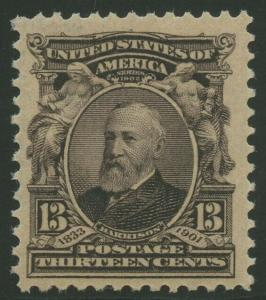 #308 13c 1902 VF++ OG NH LARGE MARGINS BU8920