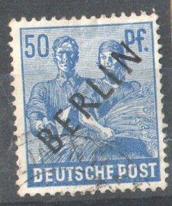 1948 WEST BERLIN GERMANY - S.G:B 13 - OVERPRINTED - USED