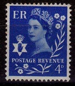 Great Britain - Northern Ireland - #2 - QEII - MH - CV$0.25
