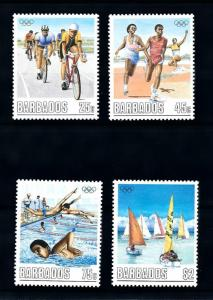 [92141] Barbados 1988 Olympic Games Seoul Cycling Swimming  MNH
