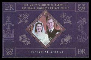 2011 Gibraltar 1420/B100 Elizabeth II and Prince Philip 7,00 €