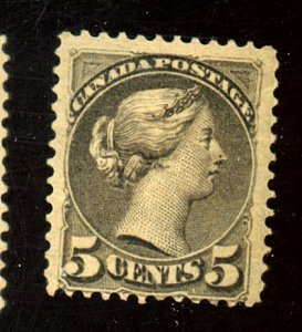 CANADA #38 MINT FINE OG CREASE ALBUM RESIDUE ON GUM Cat $1,000