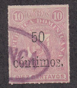 Dominican Republic - 1883 - SC 62 - Used