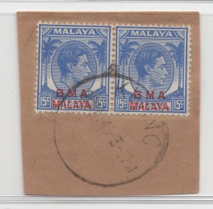 Malaya BMA - 1945 - SG 12 - Fine Used (Klang #1 Cancellation)