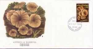 Antigua & Barbuda FDC SC# 959 Trogia buccinalis Fungus L90