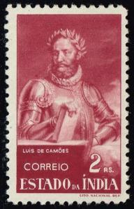 Portuguese India #465 Luis de Camoens; Unused (0.50)